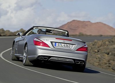 cars, AMG, Mercedes-Benz, Mercedes SL63 AMG - desktop wallpaper