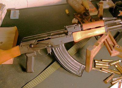 weapons, Romania, AK-47, 7.62x39mm, AKS, Semi auto - random desktop wallpaper