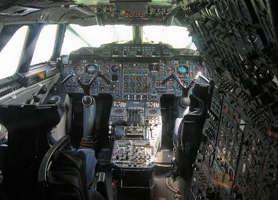 cockpit, Concorde - random desktop wallpaper