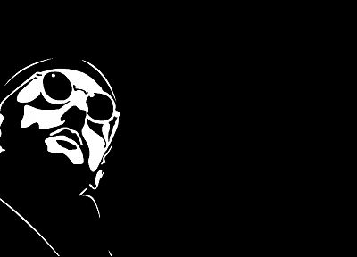 Leon The Professional, Jean Reno, black background - random desktop wallpaper