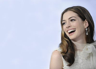 women, Anne Hathaway, American, actress, models, celebrity - desktop wallpaper