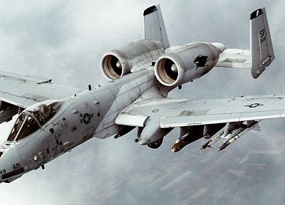 aircraft, military, Thunderbolt, vehicles, jet aircraft - related desktop wallpaper