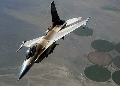 aircraft, F-16 Fighting Falcon - random desktop wallpaper