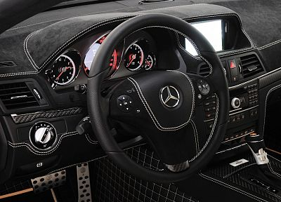 cars, supercars, Brabus, car interiors, coupe, Mercedes-Benz - random desktop wallpaper