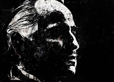 The Godfather, artwork, Marlon Brando, Alex Cherry - related desktop wallpaper