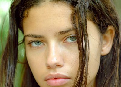 women, Adriana Lima, faces - random desktop wallpaper