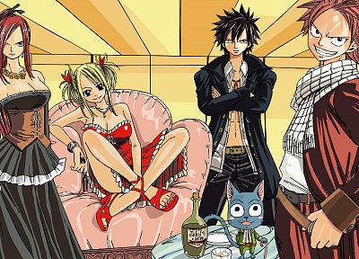 Fairy Tail - random desktop wallpaper