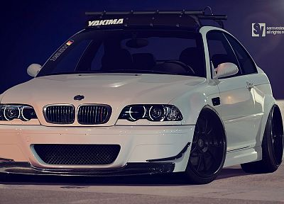 cars, BMW M3, BMW E46 - related desktop wallpaper