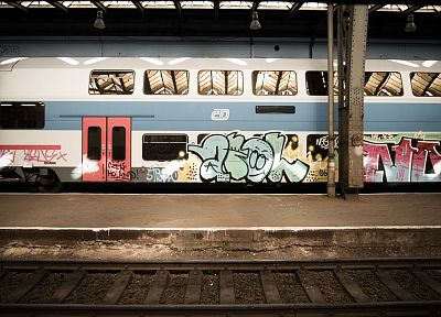 subway, street art - random desktop wallpaper