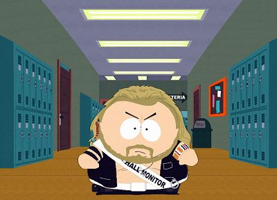 South Park, parody, Eric Cartman, bounty hunter - related desktop wallpaper