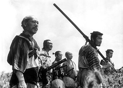 Seven Samurai - random desktop wallpaper