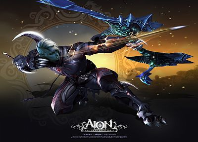 video games, Aion, MMORPG, online games - desktop wallpaper
