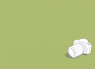 minimalistic, cameras - desktop wallpaper
