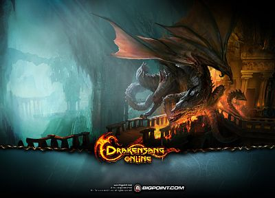 fantasy, video games, artwork, Drakensang Online - related desktop wallpaper