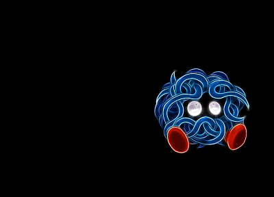 Pokemon, black background, tangla - desktop wallpaper