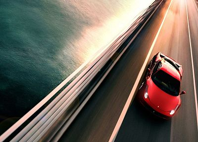 cars, roads, vehicles, supercars, Ferrari 458 Italia - desktop wallpaper