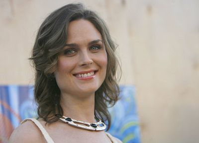 women, Emily Deschanel - random desktop wallpaper