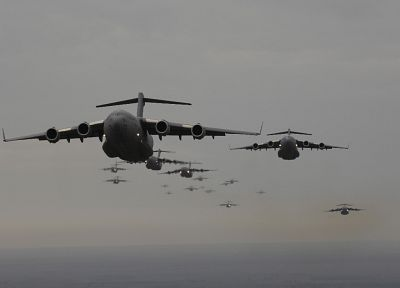 aircraft, military, C-17 Globemaster - desktop wallpaper
