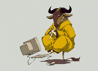 Linux, gnu - random desktop wallpaper