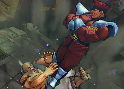 video games, Street Fighter, Mr Bison - related desktop wallpaper