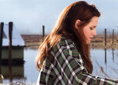 women, Kristen Stewart, Twilight, Bella Swan - random desktop wallpaper
