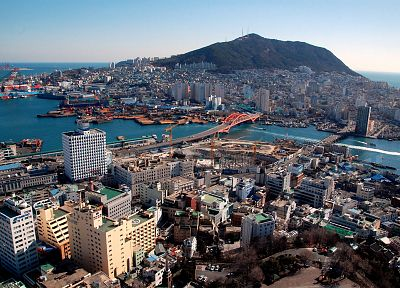 cityscapes, buildings, Korea - related desktop wallpaper