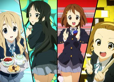 K-ON! - random desktop wallpaper