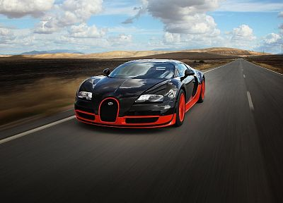 cars, Bugatti Veyron, HDR photography - random desktop wallpaper