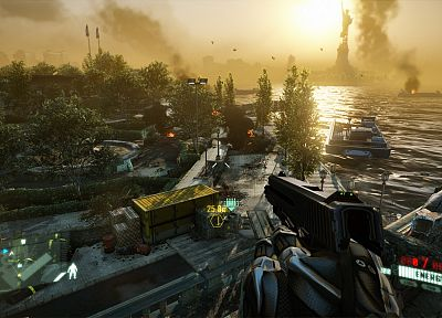 screenshots, Crysis 2 - random desktop wallpaper