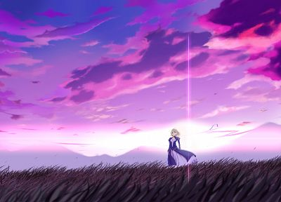 Fate/Stay Night, Saber, Fate series - desktop wallpaper
