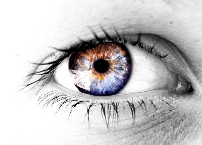 eyes, photo manipulation - random desktop wallpaper