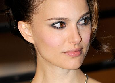 women, Natalie Portman, faces - related desktop wallpaper