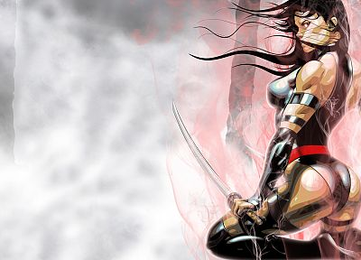 Psylocke, Marvel Comics - random desktop wallpaper