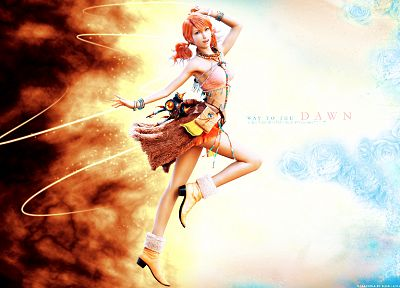 Final Fantasy, video games, Final Fantasy XIII, Oerba Dia Vanille - related desktop wallpaper