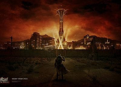 Fallout: New Vegas - random desktop wallpaper