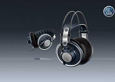 headphones, music, AKG Acoustics - random desktop wallpaper