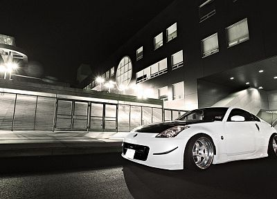 cars, vehicles, Coupé, tuning, Nissan 350Z - related desktop wallpaper