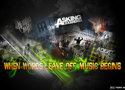 music, asking alexandria, Adept - random desktop wallpaper