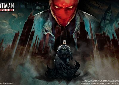 Batman, DC Comics, Red Hood - random desktop wallpaper