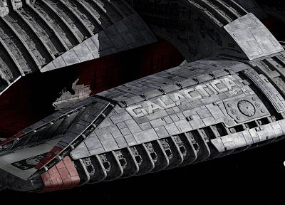 Battlestar Galactica, spaceships, flight pod - random desktop wallpaper