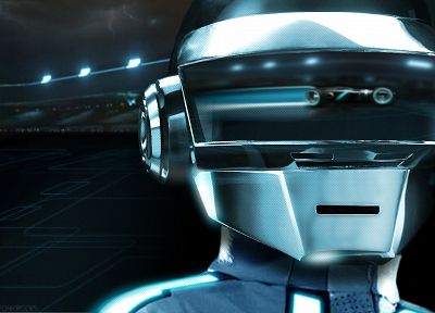 Daft Punk, Tron Legacy - desktop wallpaper