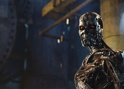 robots, screenshots, Terminator Salvation - random desktop wallpaper