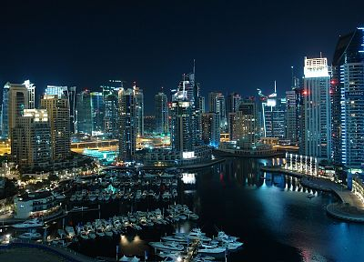 cityscapes, Dubai, Harbor - related desktop wallpaper