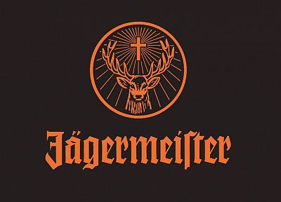 alcohol, Jagermeister, drinks - random desktop wallpaper