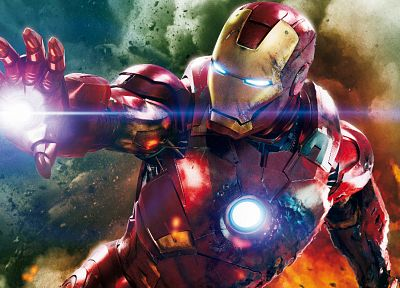 Iron Man, The Avengers (movie) - random desktop wallpaper