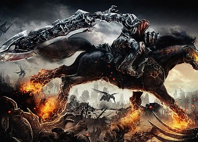 video games, Darksiders - random desktop wallpaper