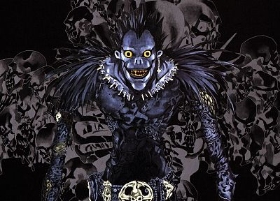 Death Note, Ryuk - random desktop wallpaper