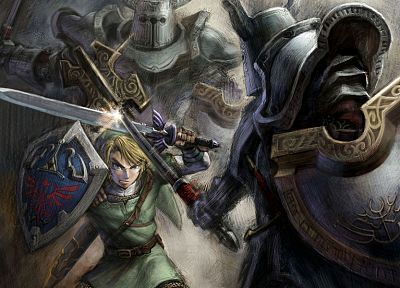 video games, Link, The Legend of Zelda, concept art - related desktop wallpaper