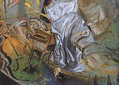 Salvador Dalí, artwork - related desktop wallpaper