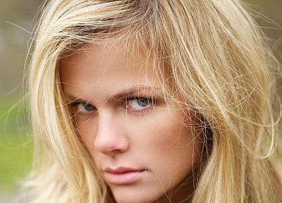 blondes, women, models, Brooklyn Decker, faces - related desktop wallpaper